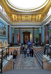 museum foyer
