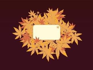 leaf note brown