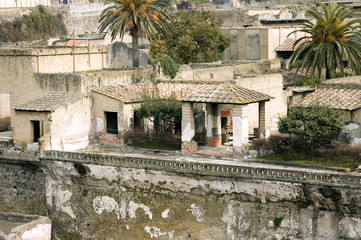 herculaneum excavations 8, naples, italy