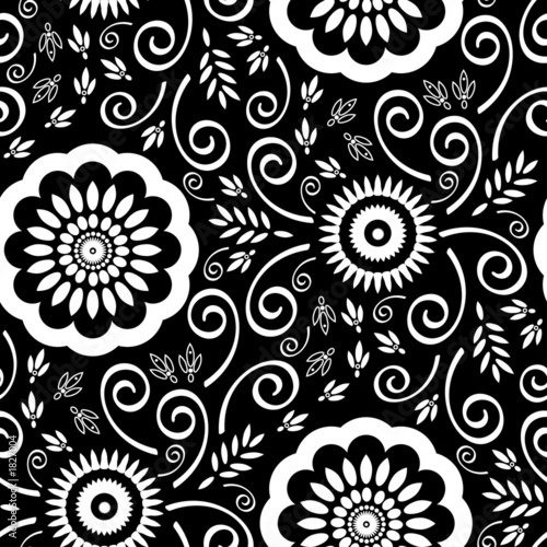 wallpaper vintage pattern. seamless wallpaper pattern