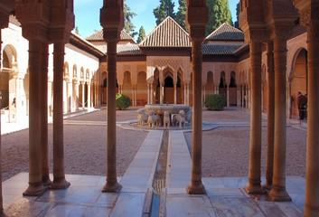 löwenhof im nasriden palast, alhambra