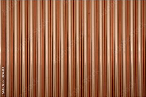 vertical copper tubes - 1828654