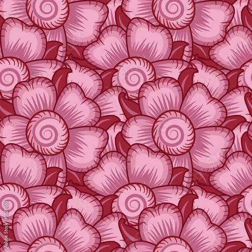 seamless pink wallpaper pattern
