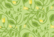 roleta: seamless floral wallpaper pattern