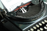 la machine à écrire poster