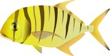 golden trevally (gnathanodon)