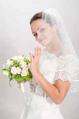 pretty bride.