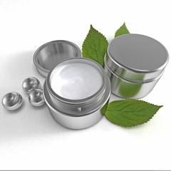 metal cream cosmetic
