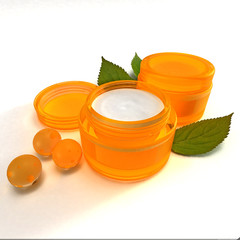 orange cream cosmetic2