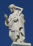 religious statue poster