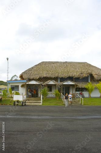 poster of rustic airport nicaragua
