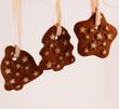 biscotti con stelle al cacao