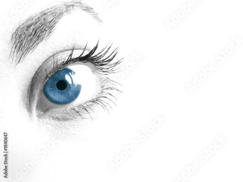 mirada de mujer