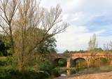 vieux pont de pierres poster