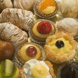 italian pastry poster