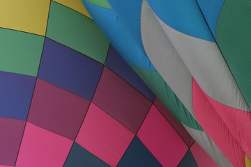 hot air balloon colors