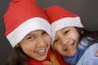 kinder in weihnachtslaune