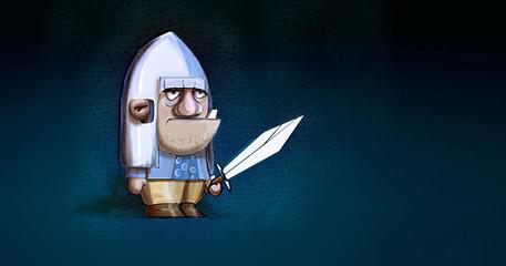 medieval man cartoon