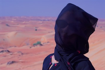 lady in liwa