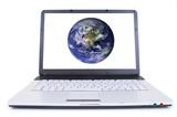 high tech laptop poster