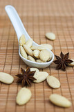 almonds & star anise poster