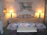 beach condo bedroom poster