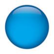aqua button blue