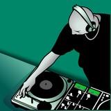 dj mixing poster
