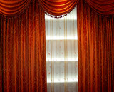 luxury curtain poster