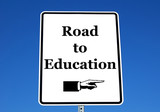 road to education poster