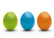 grün, blau, orange