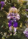 purple fairy ornament poster