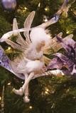 white fairy ornament poster