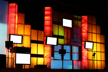 colorful stage production