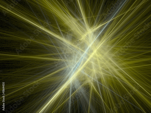 abstract background - golden rays