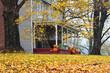 Leinwandbild Motiv country home