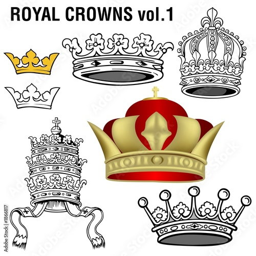 royal crowns vol.1 poster