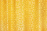 golden curtain textured background poster