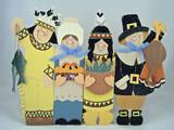 thanksgiving pilgrims poster