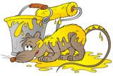 yellow rat poster
