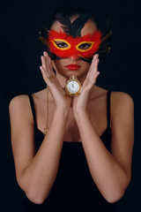 girl in the mask