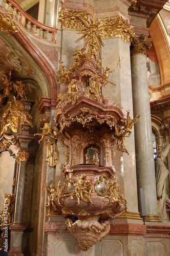 púlpito barroco