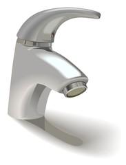 single-hole basin mixer