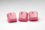 concept of online porn poster