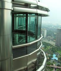 petronas twin towers office, kuala lumpur, malaysi