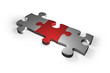 puzzle-teil silver red 01