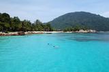 snorkeling paradise poster