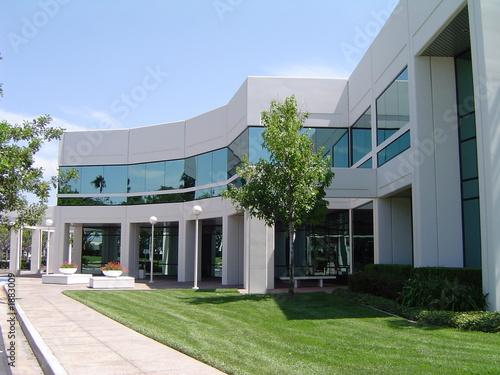 canvas print picture office building 005