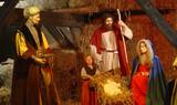 birth of jesus christ poster