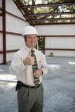 construction inspector - thumbs up poster